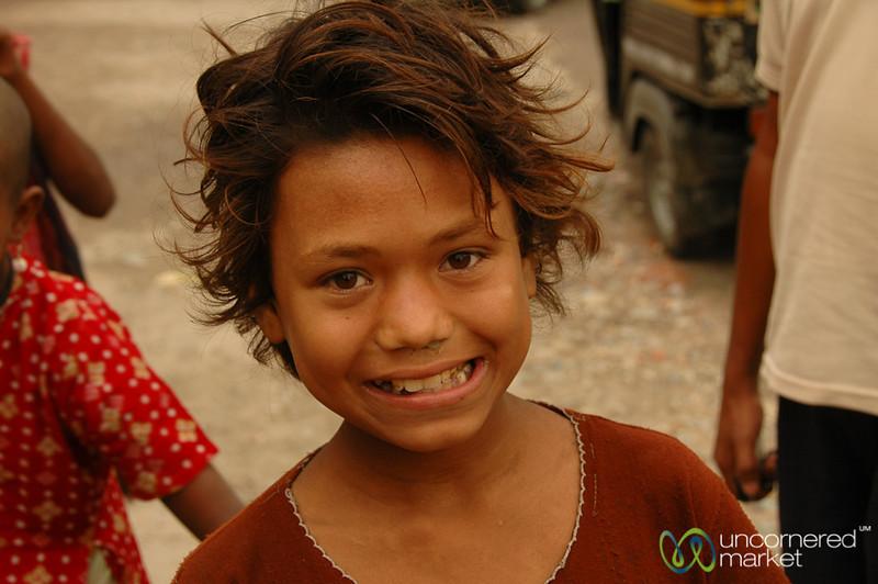 Friendly at the Border - Jaigaon, India
