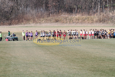 Men's Start - 2013 NCAA Division I Great Lakes Region Cross Country Championships