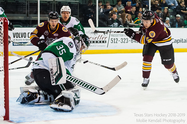 10-26-18 Texas Stars vs Chicago Wolves