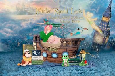 Hunter Ronald Louis 2020