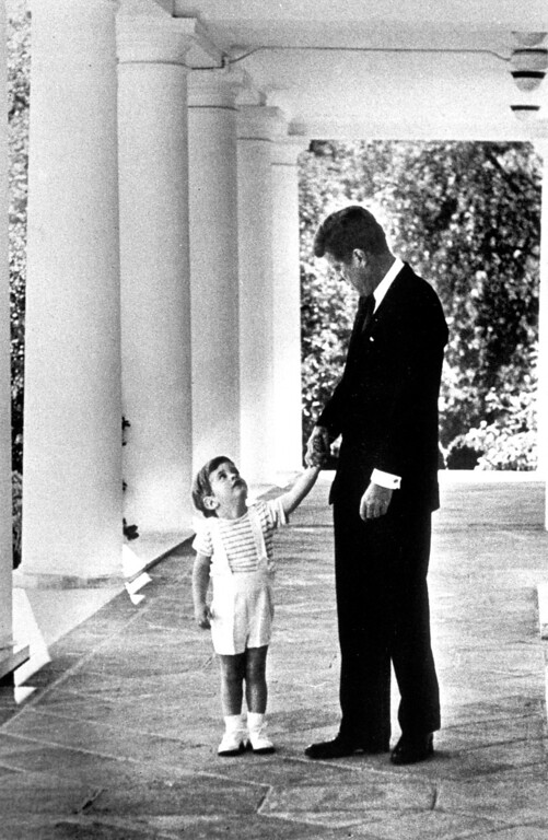 . President Kennedy with John Jr.   Los Angeles Daily News file photo