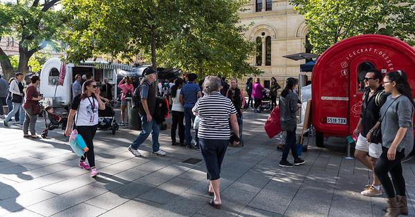 Adelaide Fringe 2017 - Night Markets & Music Pitches