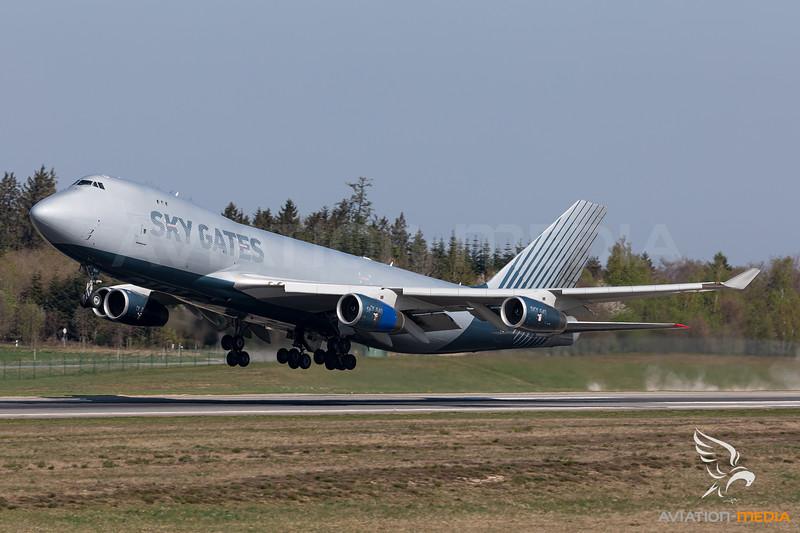 Sky Gates Airlines / Boeing 747-400ERF / VP-BCH