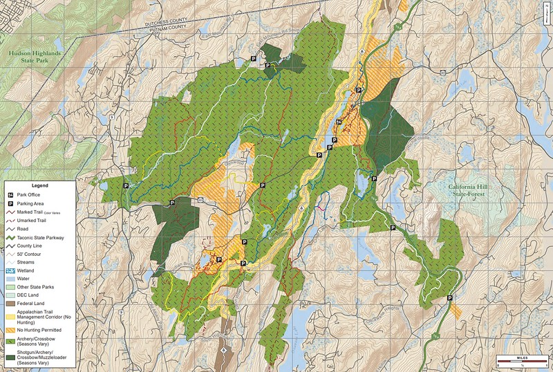 Clarence Fahnestock State Park (Hunting Map)
