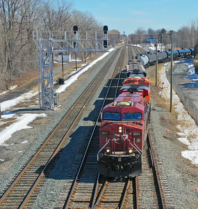 Canadian Pacific 651, Delson, Quebec, March 16 2020.