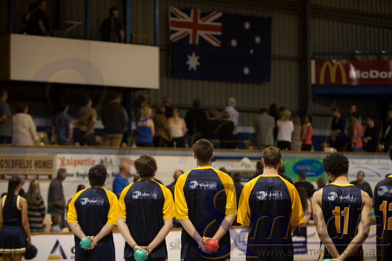 2014 WA State Basketball League: Round Seven - Goldfields Giants vs South West Slammers