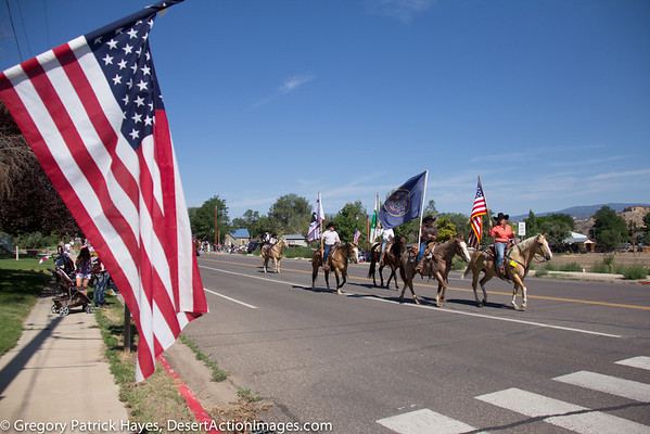 Escalante Pioneer Day Parade, Rodeo and Fireworks 2013