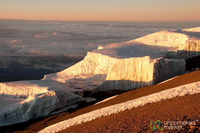 Sunrise and Glaciers - Mt. Kilimanjaro, Tanzania