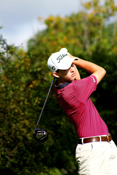 No. 1 world-ranked Amateur Patrick Cantlay, 19, of Los Alamitos, Calif., tees off in the third round Thursday.