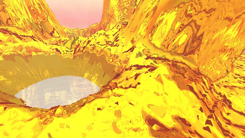 Gold Island 31 : A Computer Generated Image from Daily Animation