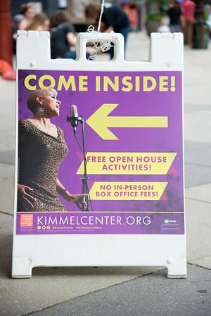 Kimmel Center Open House 2015