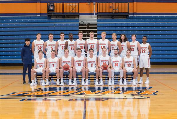 Wheaton College 2018-19 Men's Basketball Team