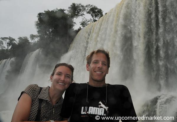 Bossetti Waterfall at Iguazu Falls, Argentina