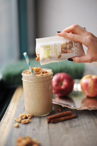 011315  Be Well With Arielle - Apple Pie Smoothie