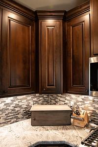 Best Choice Cabinets | Volz White + Dark Maple West Bend