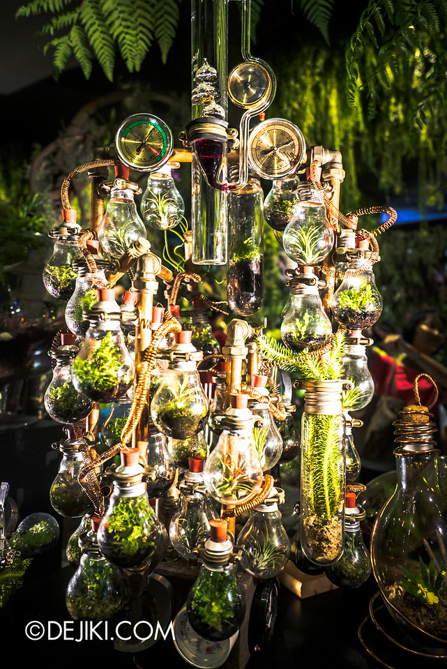 Singapore Garden Festival 2016 - World of Terrariums 3 vials