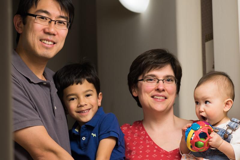 Family portrait time!