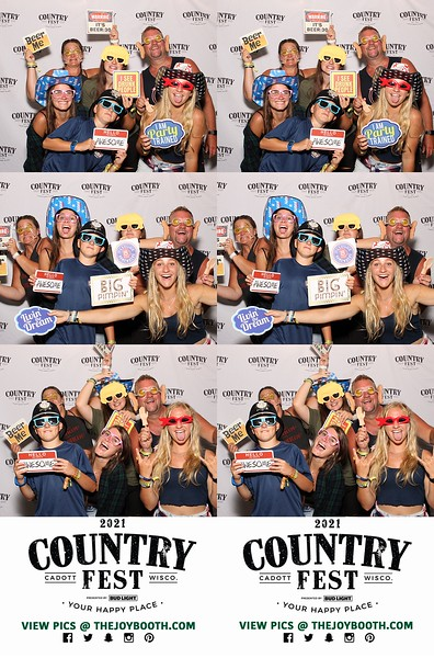 Country Fest 2021 VIP PRINTS - Friday 6-25-2021