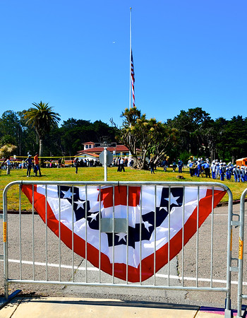 Memorial Day, 2018, SF Presidio National Cemetery