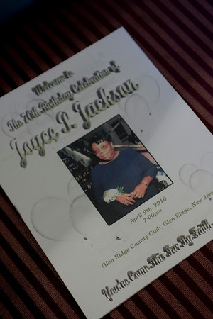 Joyce Jackson 70th