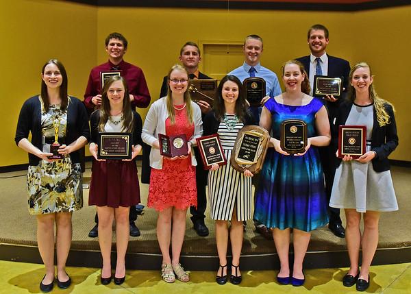 Senior/Faculty Banquet and Awards