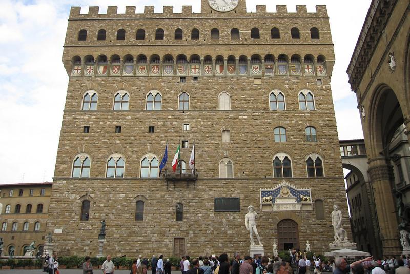 The Palazzo Vecchio in Rome, Italy