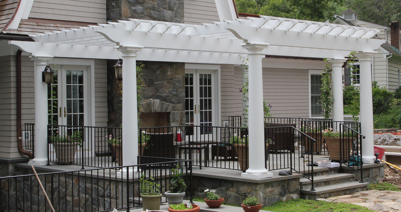 177 - 403174 - Old Greenwich CT - Patio Pergola