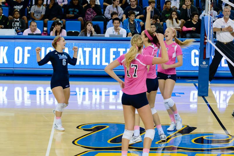 UCLA Women's Volleyball vs. Washington @ Pauley Pavilion