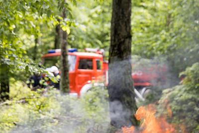 Manewry pożarowe - Krajeński Gaj 2019