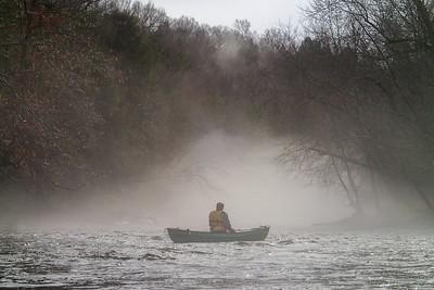 2014-12-24 Slippery Rock Creek, Christmas Eve Paddle