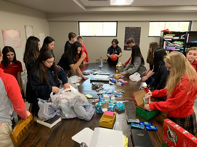 LEAP with HS - Operation Christmas Child