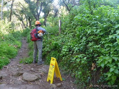 2013 (Mar 10) SBOV - Jesusita Trail Work