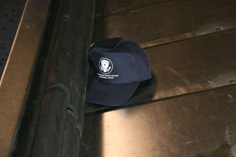 Hat at Dallas Airport