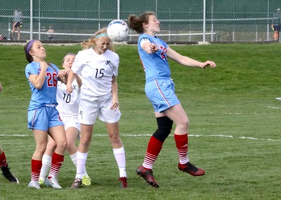Dubuque Senior vs. Xavier Girls' Soccer 5/4/17