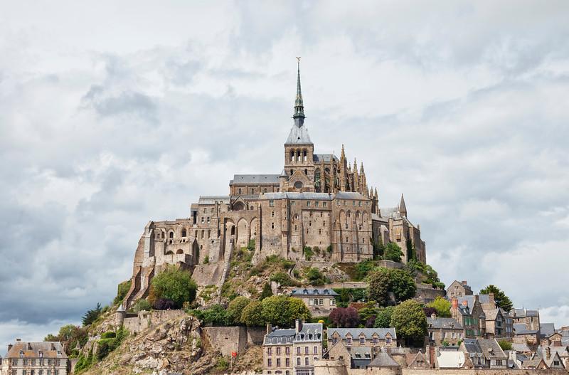 Mont Saint-Michel - Abbey in Basse Normandy, France - UNESCO World Heritage Site