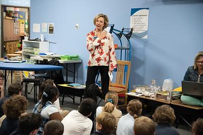 Guest Jamie Inman Speaks to 3rd Graders