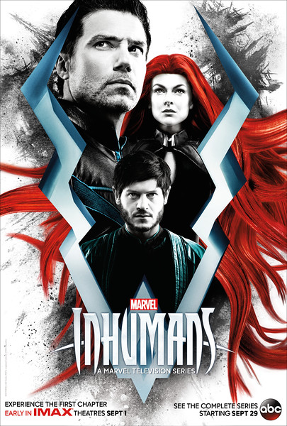 INHUMANS are coming this fall on ABC