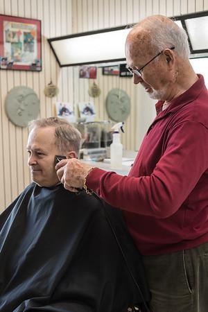 Sam's Barber Shop - Final Day December 2018