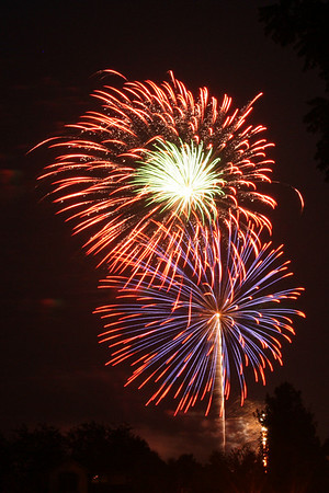 Black Squirrel Fireworks 2008