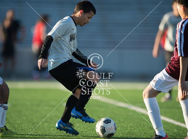 2013-01-30 Soccer Varsity Boys Reagan v Waltrip