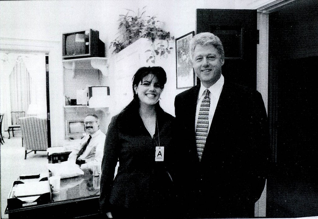 ". <p><b><a href=\'http://www.eonline.com/news/444808/monica-lewinsky-learns-anthony-weiner-s-lesson-tabloid-claims-to-have-sex-tape-audio-from-bill-clinton-affair\' target=""_blank\""> 7. Monica Lewinsky </a></b> <p>Bill Clinton�s favorite intern back in the news! This calls for a cigar! (3) <p> --------------------------------------------  (File photo)"