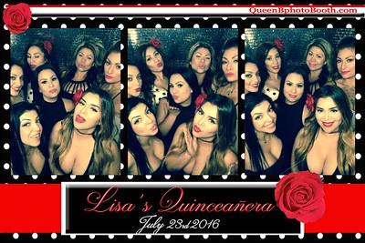 Lisa's Quinceañera 2016