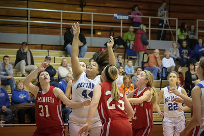DHS Girls Basketball 01-23-2014