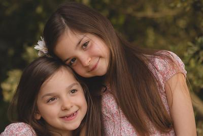 Imogen and Sophia