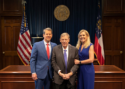 1.16.2020 Photos with Governor Kemp - State of the State Address