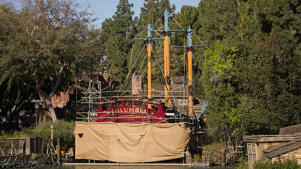 Disneyland Resort, Disneyland, Frontierland, Sailing Ship Columbia