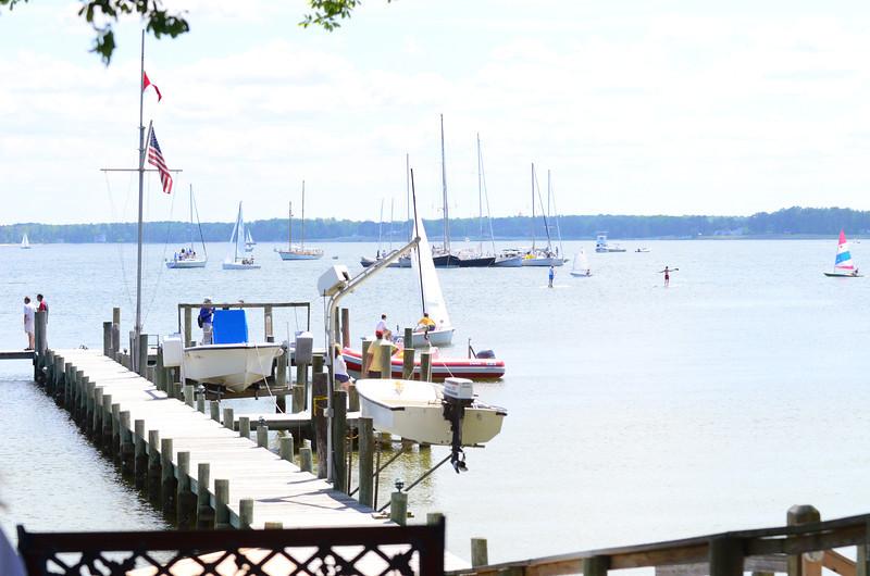 5/24 Open House Regatta Raft up starting