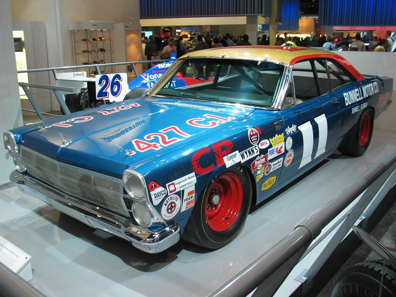Mario Andretti - 1967 Daytona 500-Winning Ford Fairlane