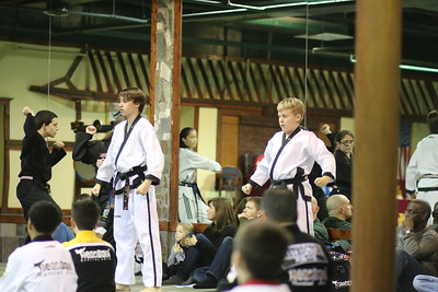 Dec 2015 Black Belt Test & Ceremony