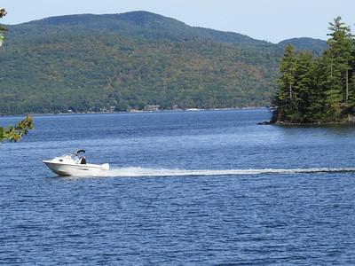 Newfound Lake, Ledges